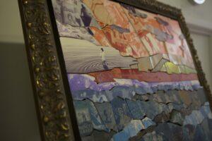 Bespoke Mosaic stone art piece